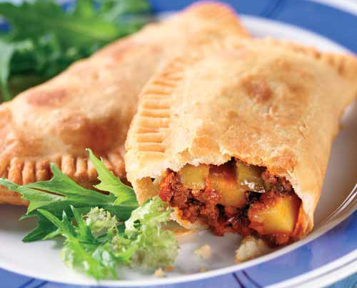 "Here is an Argentine empanada filled with meat and vegetables ""Gourmet ..."